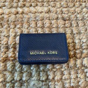 Michael Kors Leather Wallet/Card Case